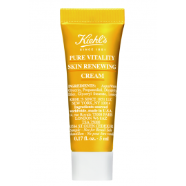 KIEHL'S Pure Vitality Skin Renewing Cream 5ml