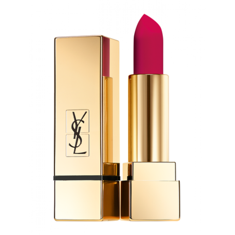 YSL ROUGE PUR COUTURE THE MATS #208 FUCHSIA FETICHE BOX Tester